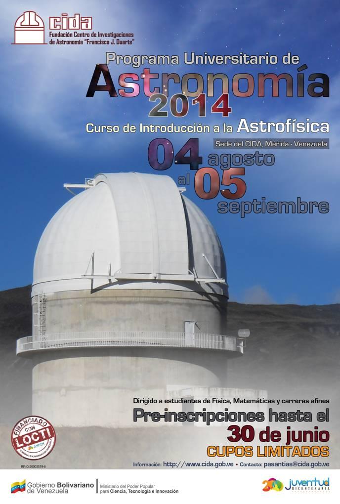 Curso de Introducción a la Astrofísica