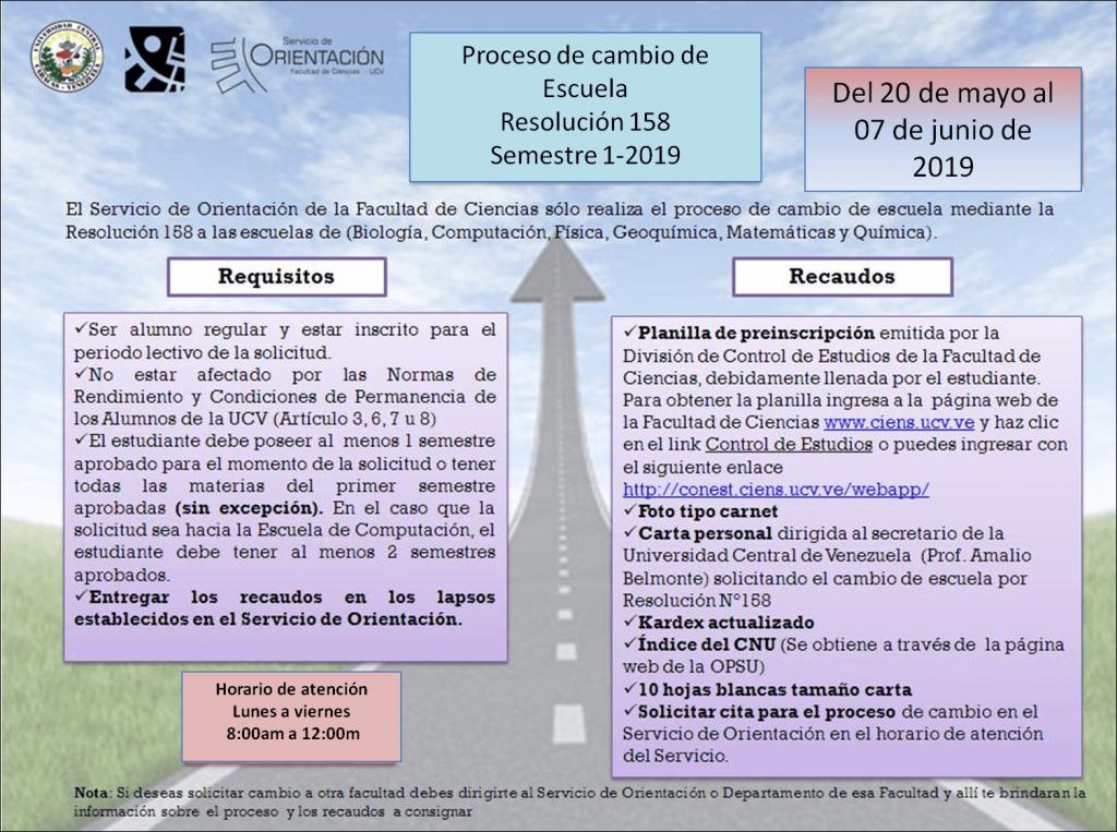 Cambio de escuela 158 1-2019