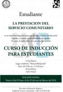 CURSO DE INDUCCION ESTUDIANTE I-2017